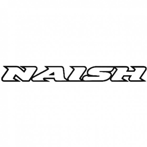 Naish Text Surfing Decal...