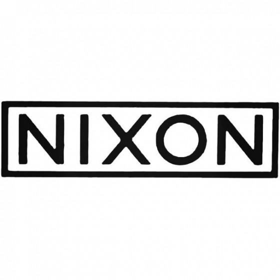 Nixon Block Surfing Decal...