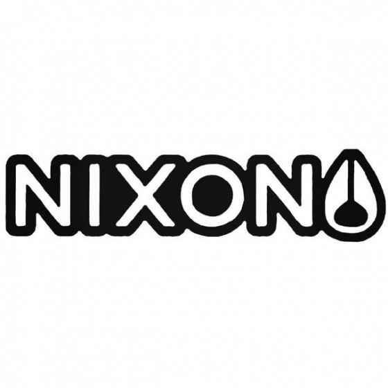 Nixon Outline Surfing Decal...