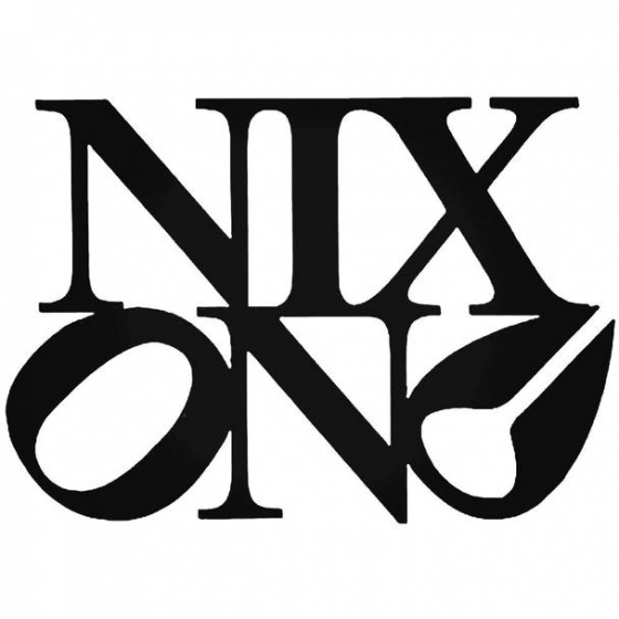 Nixon Philly Surfing Decal...