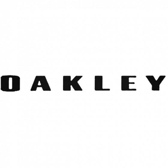 Oakley Fresh Surfing Decal...