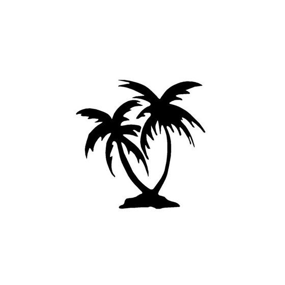 Palm Trees Die Cut Vinyl...