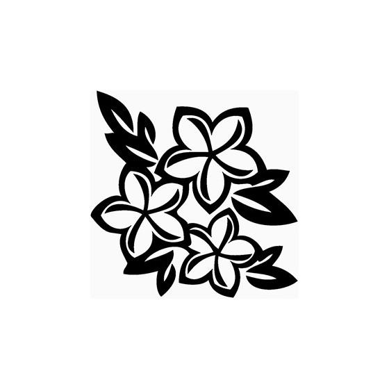 Plumeria Flower Die Cut...