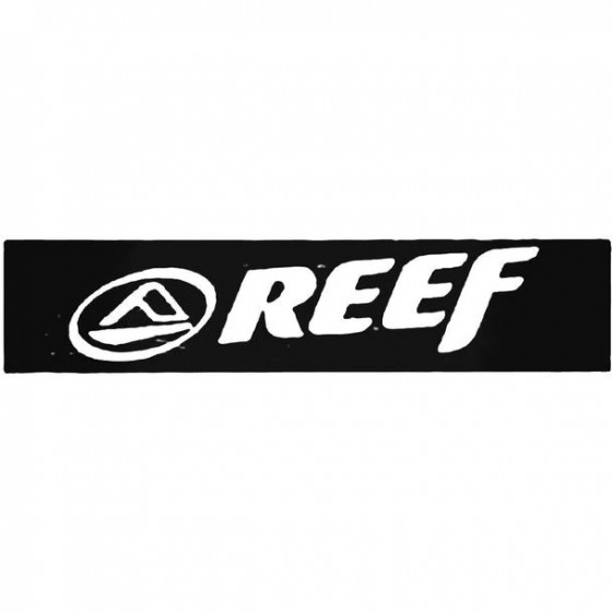 Reef Square Surfing Decal...