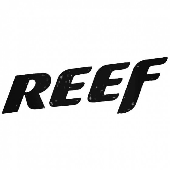 Reef Text Surfing Decal...