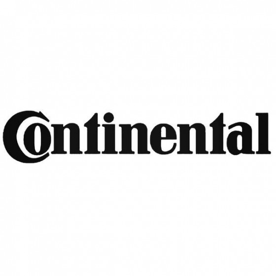 Continental Decal Sticker