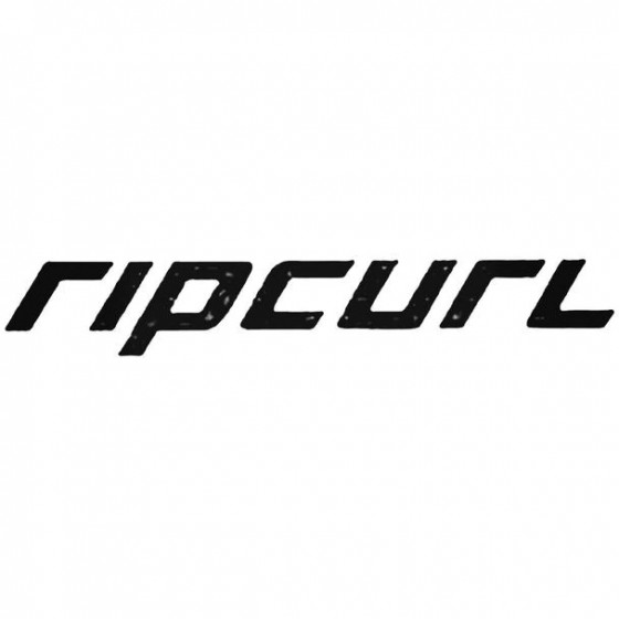 Rip Curl Text Surfing Decal...