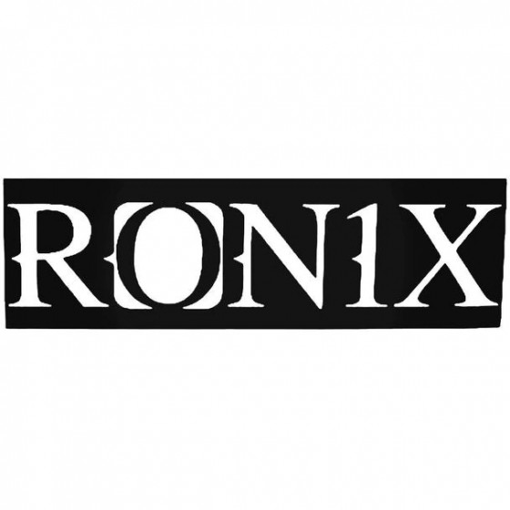 Ronix Block Surfing Decal...