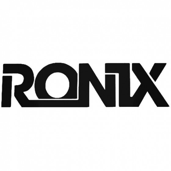 Ronix Bold Surfing Decal...