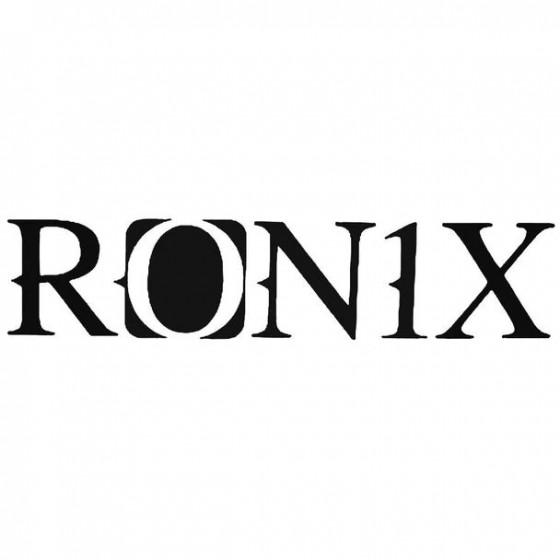 Ronix Surfing Decal Sticker