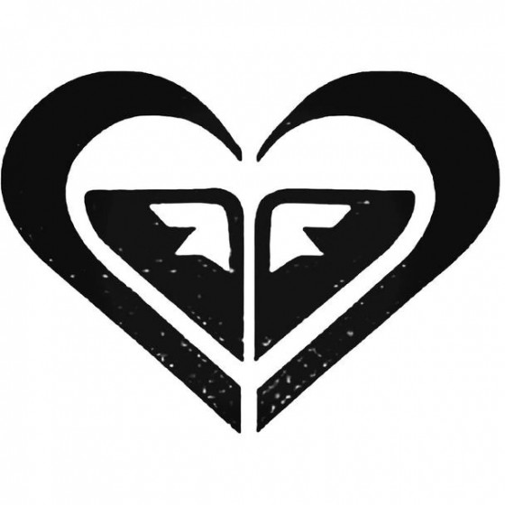 Roxy Heart Surfing Decal...