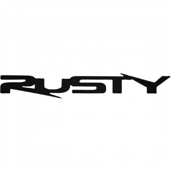 Rusty Extreme Surfing Decal...
