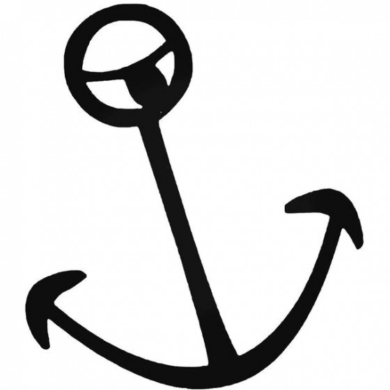 Rvca Anchor Surfing Decal...