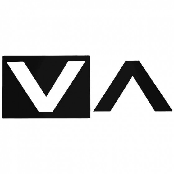 Rvca Block Surfing Decal...