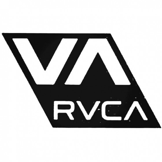 Rvca Both Surfing Decal...