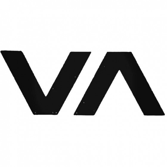 Rvca Va Surfing Decal Sticker