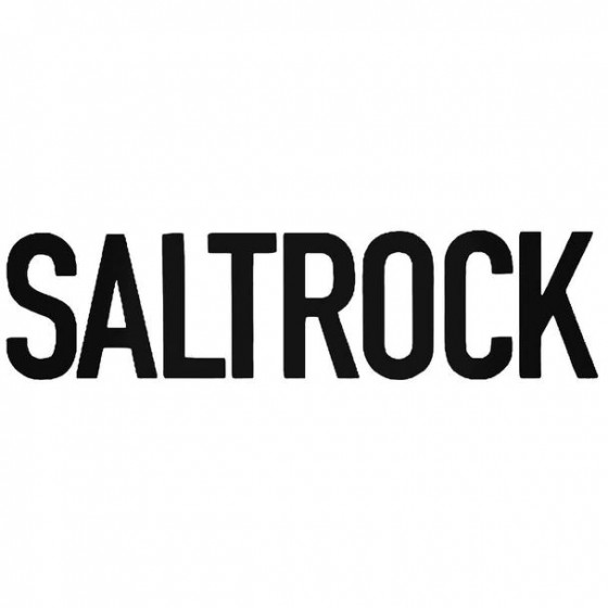 Salt Text Surfing Decal...