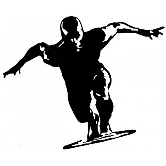 Silver Surfer Vinyl Decal...