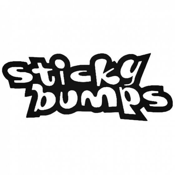 Sticky Bumps Surfing Decal...