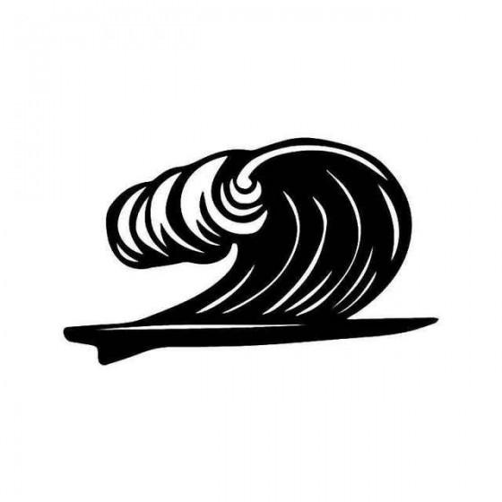Surfboard Wave Surfing...