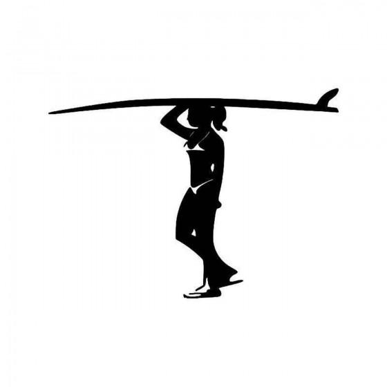 Surfer Girl 1 Vinyl Decal...