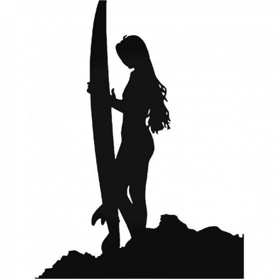 Surfer Girl 3 Vinyl Decal...