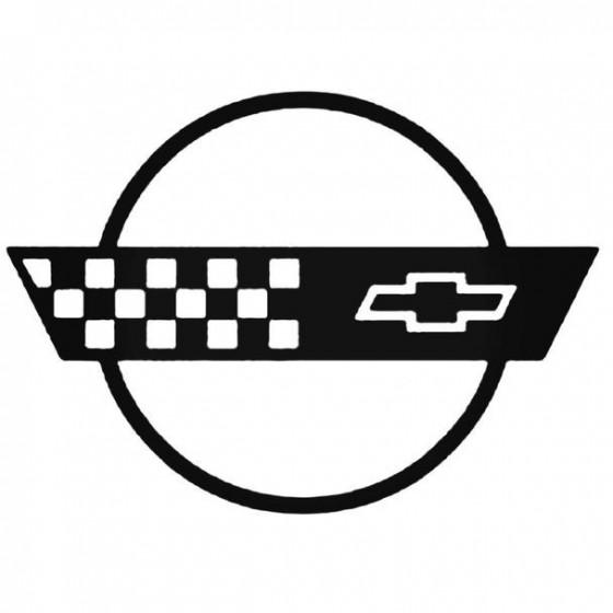 Corvette 4 Decal Sticker