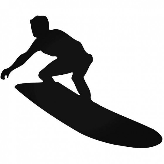 Surfing 894 Decal