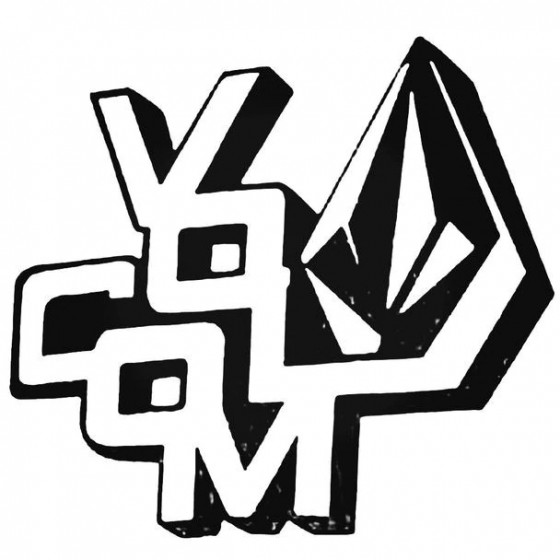 Volcom Both Surfing Decal...