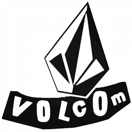 Volcom Double Surfing Decal...