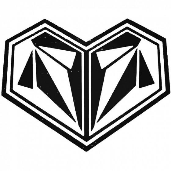 Volcom Heart Surfing Decal...