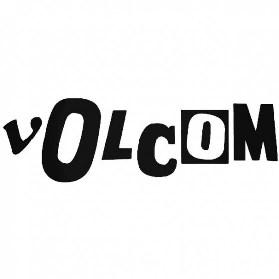 Volcom Letters Surfing...