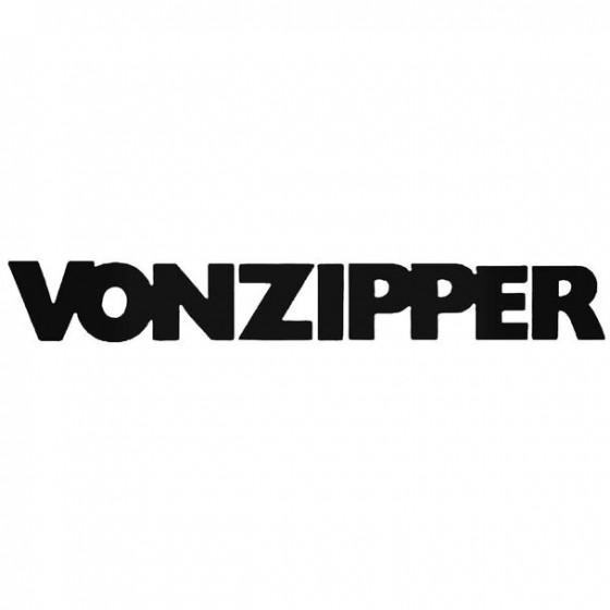 Von Zipper Text Bold...