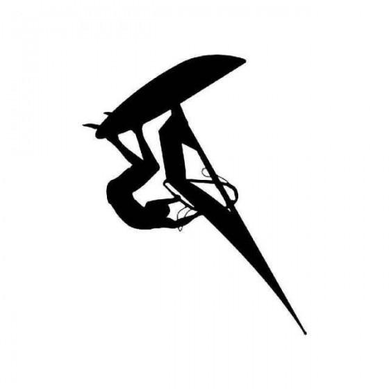 Windsurfing Vinyl Decal...