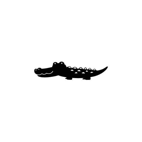 Alligator Decal Sticker V18