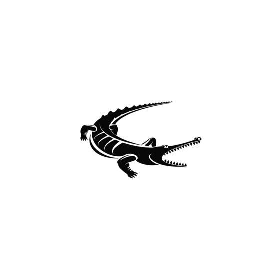Alligator Decal Sticker V24