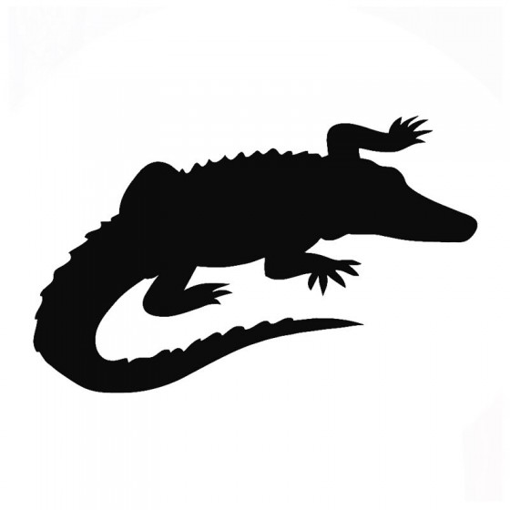 Alligator Decal Sticker V4