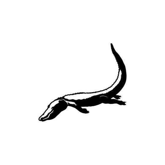 Alligator Swamp Decal Sticker