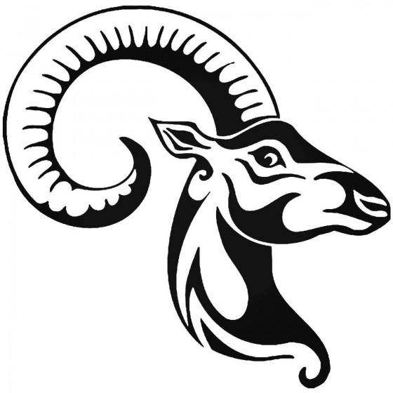Antelope Decal Sticker V10