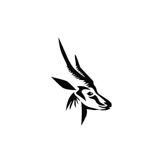 Antelope Decal Sticker V11