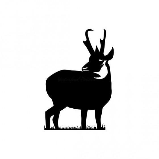 Antelope Decal Sticker V12
