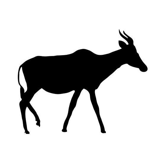 Antelope Decal Sticker V13