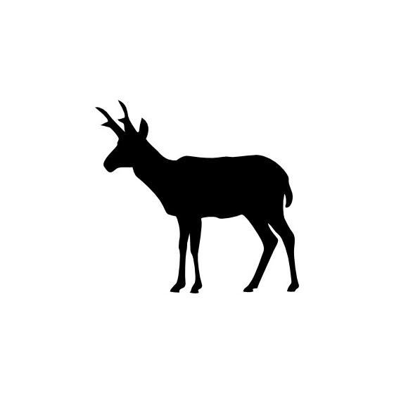 Antelope Decal Sticker V18