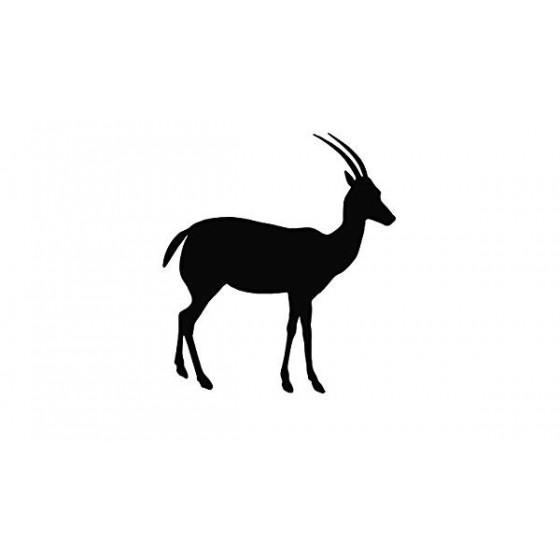 Antelope Decal Sticker V19