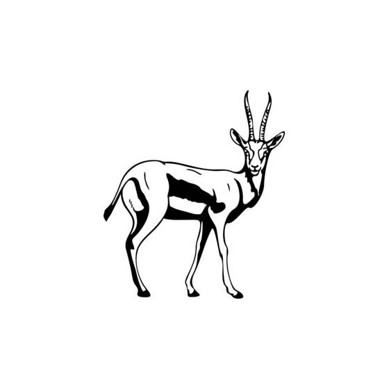 Antelope Decal Sticker V2