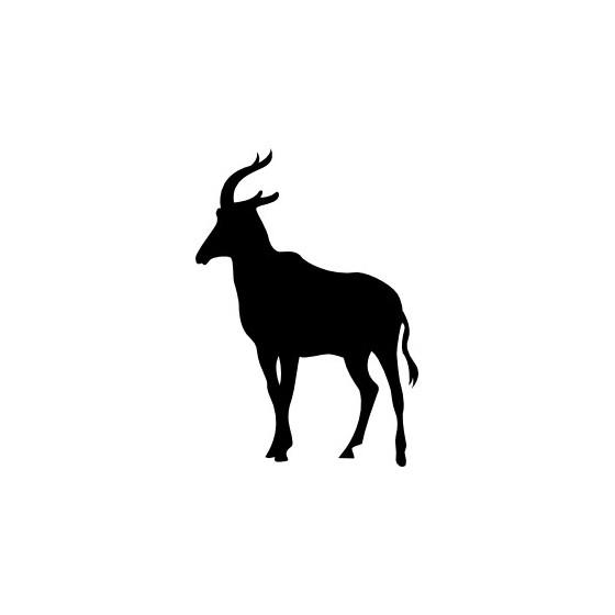 Antelope Decal Sticker V20