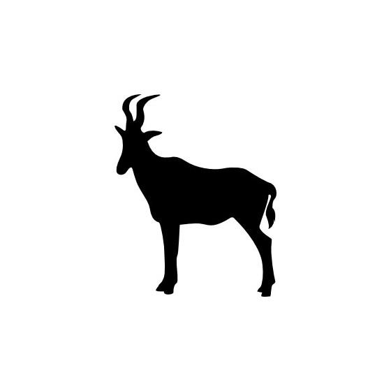 Antelope Decal Sticker V24