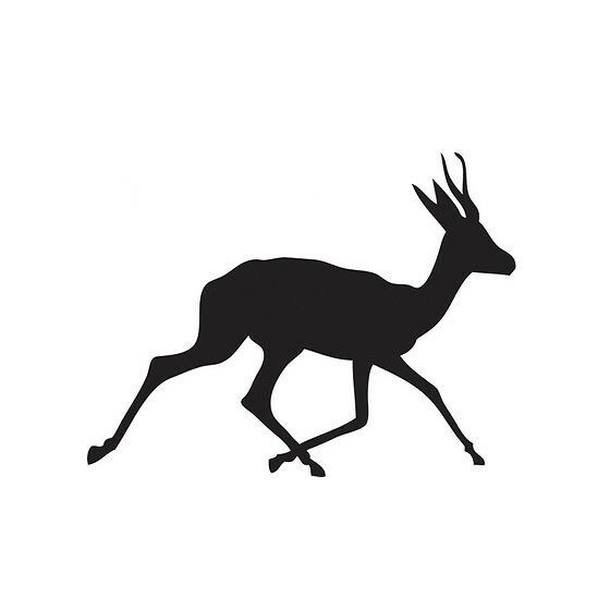 Antelope Decal Sticker V28
