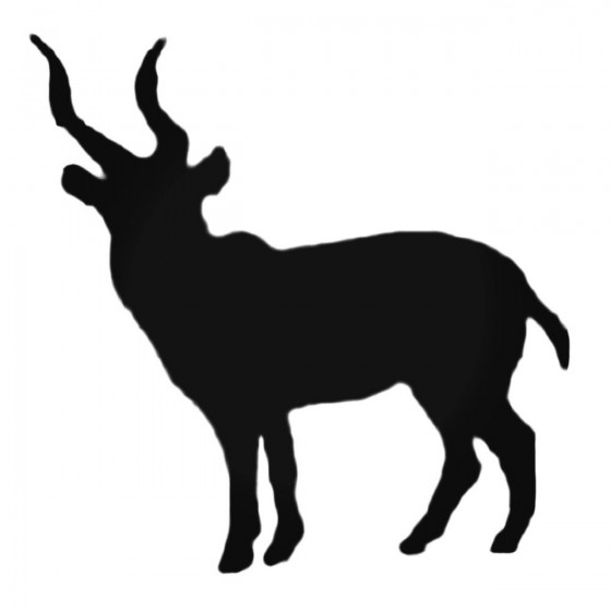 Antelope Decal Sticker V31