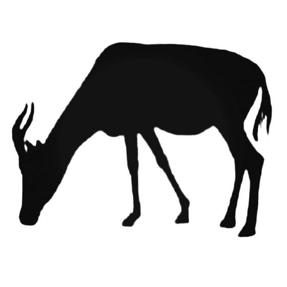 Antelope Decal Sticker V32